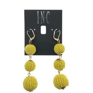 INC Earrings ball Earrings Seed bead